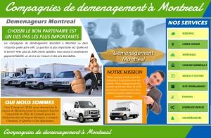Compagnies de demenagement à Montreal