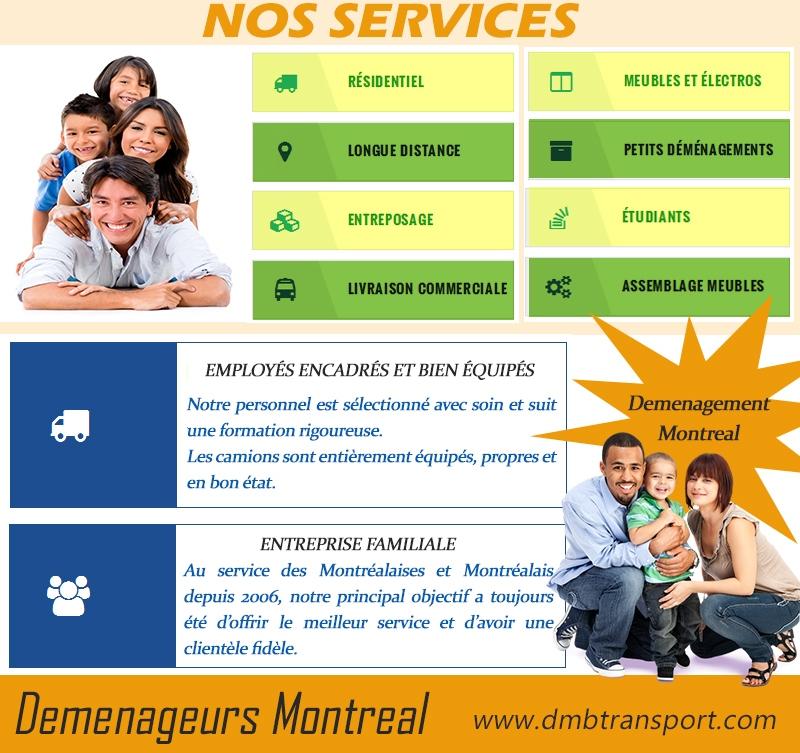 Déménageurs Montréal